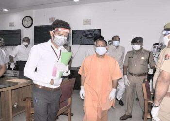 CM Yogi reached Saharanpur
