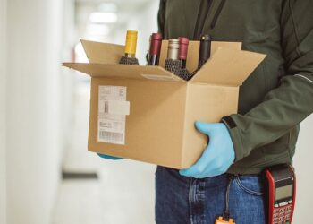 Online home delivery of alcohol
