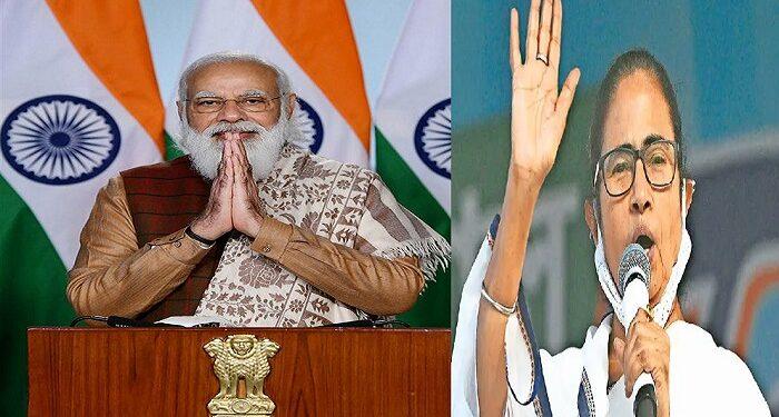PM Modi congratulates Mamata Banerjee