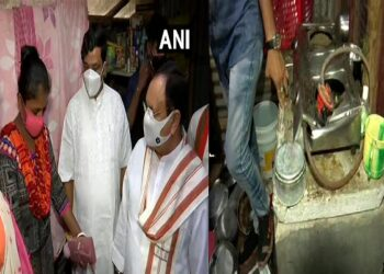 Nadda met with the victim's families