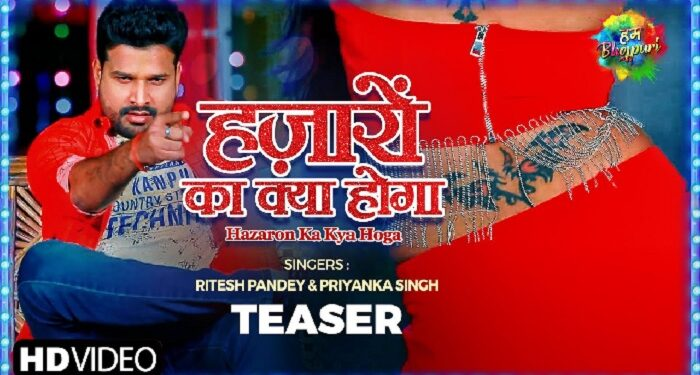Teaser of Riteish's new song 'Hazaron Ka Kya Hoga' released