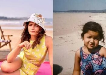 Actress Alia Bhatt shared her childhood photo on social media