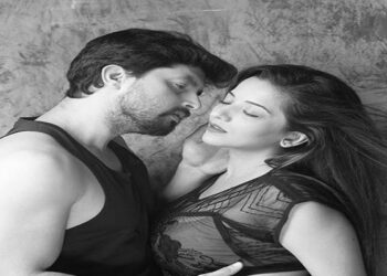 Famous actress Monalisa shares romantic video with husband