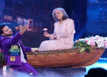 Indian Idol contestant Danish Mohammed won the heart of Zeenat Aman