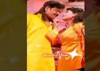 Song of Bhojpuri star Ravi Kishan's film 'Radhe' is shadowed on social media.
