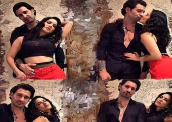 Daniel Weber and Sunny Leone grooving to the song of Panga Girl