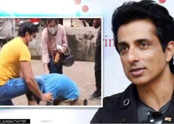 Cancer victim Abhishek Jain gets emotional seeing his idol Sonu Sood
