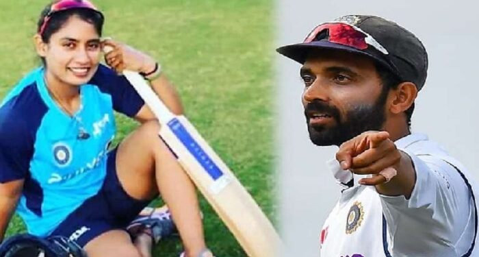 Ajinkya Rahane gave batting tips to Indian women's cricket team