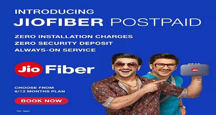 Reliance Jio has brought many new postpaid plans for fiber users at once