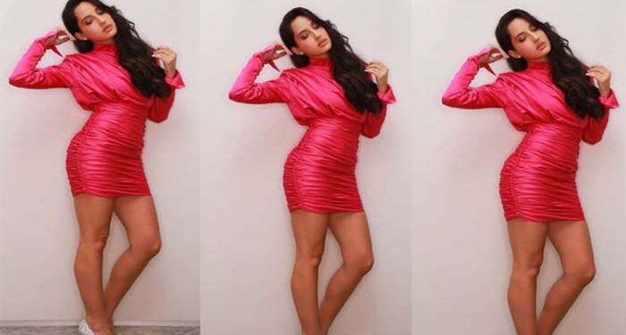 People liked the funny style of Nora Fatehi, the video went viral