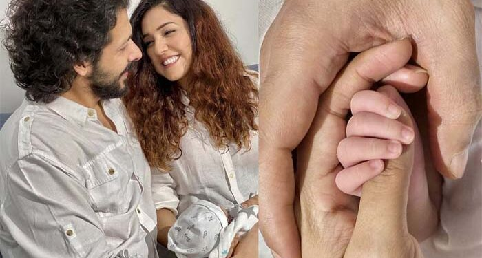 Neeti Mohan and Nihar Pandya showed the first glimpse of their son