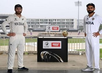 India invited New Zealand after scoring 217 runs in the first innings