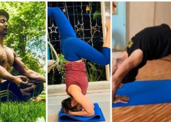 TV stars share their pictures on International Yoga Day