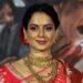 Kangana Ranaut paints her face to mold Indira Gandhi's character