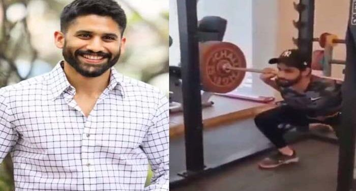 Naga Chaitanya's workout video went viral, fans were surprised to see
