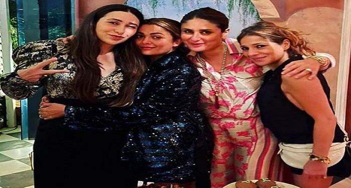Karisma was seen celebrating her 47th birthday at Kareena's house