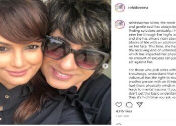 In Karan Mehra-Nisha Rawal's fight, Rohit spoke on Nisha's injury