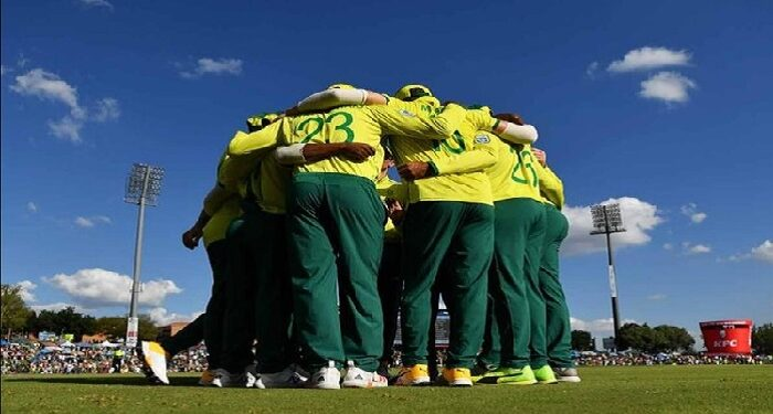 Ireland selected its team against South Africa
