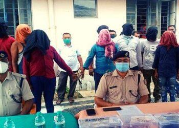 BJP leader arrested with drug