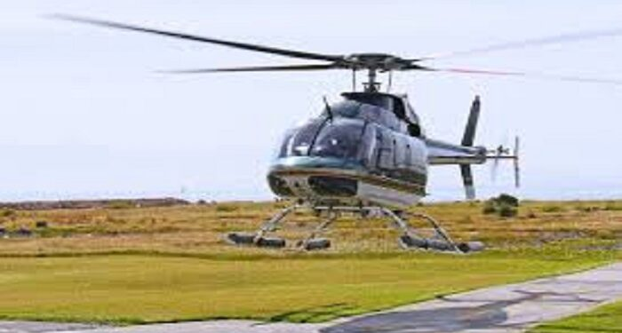 Helicopter and charter plane service
