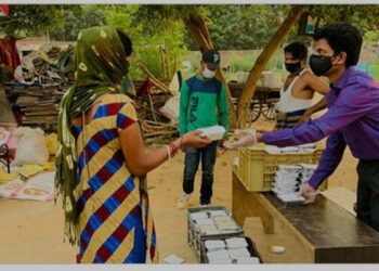 Helper of the poor 'Vishalakshi Foundation' is providing help day and night