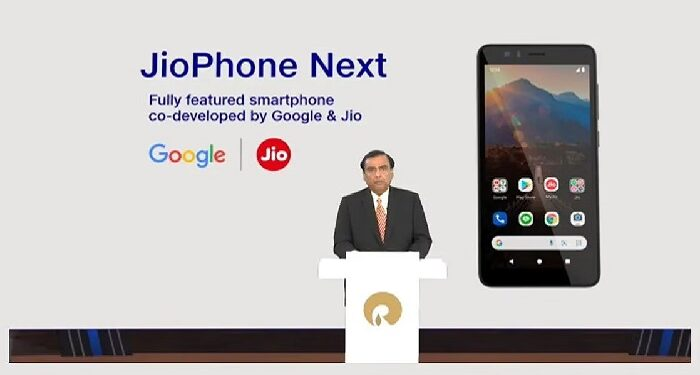 Reliance announces JioPhone Next, cheapest smartphone of Google-Jio