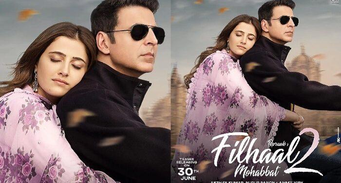 Khiladi Ke Khiladi Akshay Kumar is bringing super hit song 'Filhaal' 2