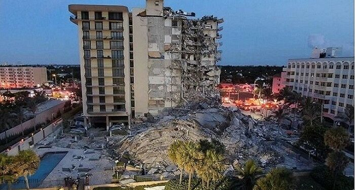 12-storey building collapses
