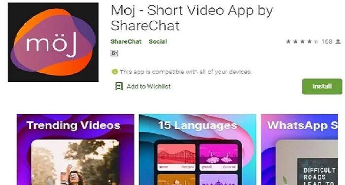 Indian social media app Moj rocked in one year