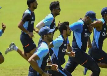 Indian team started training session after completing the quarantine period