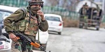 Terrorists snatch AK-47 rifle