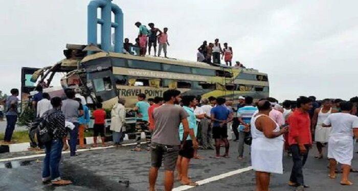 double decker bus accident