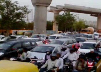 Noida traffic