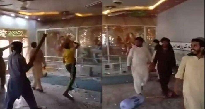 Hindu temple vandalized