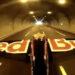plane under tunnel